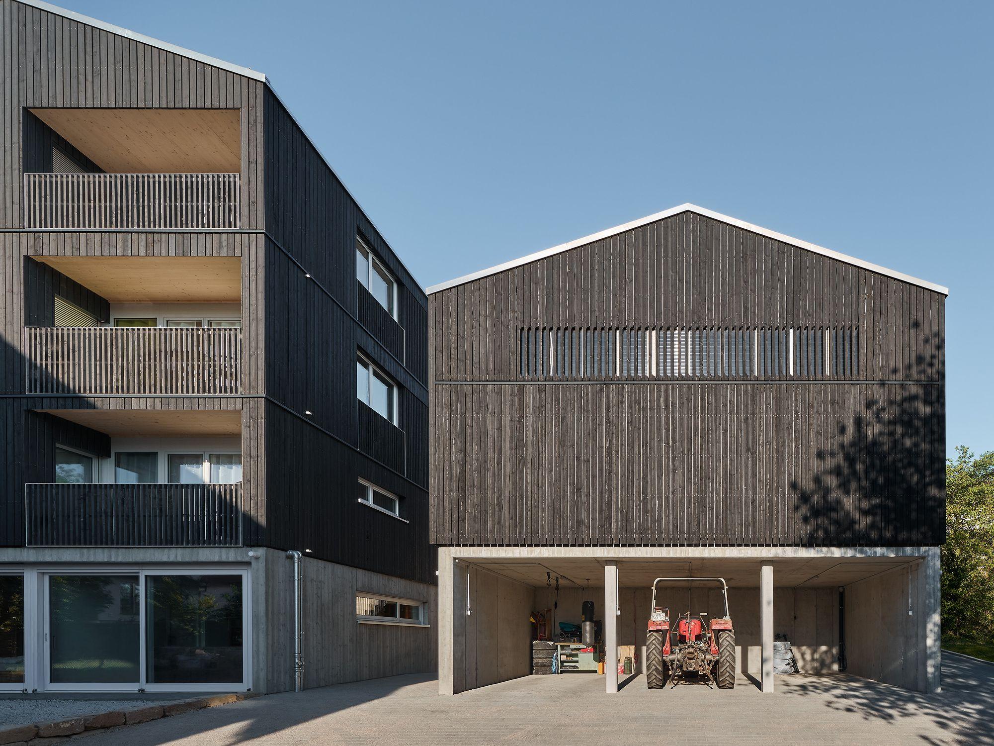 Housing And Workshop Weilerstrasse Cape Prof Markus Binder Schleicher Ragaller Architekten Architect Architecture Contemporary Apartment