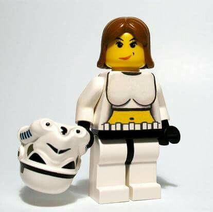 She's a trooper