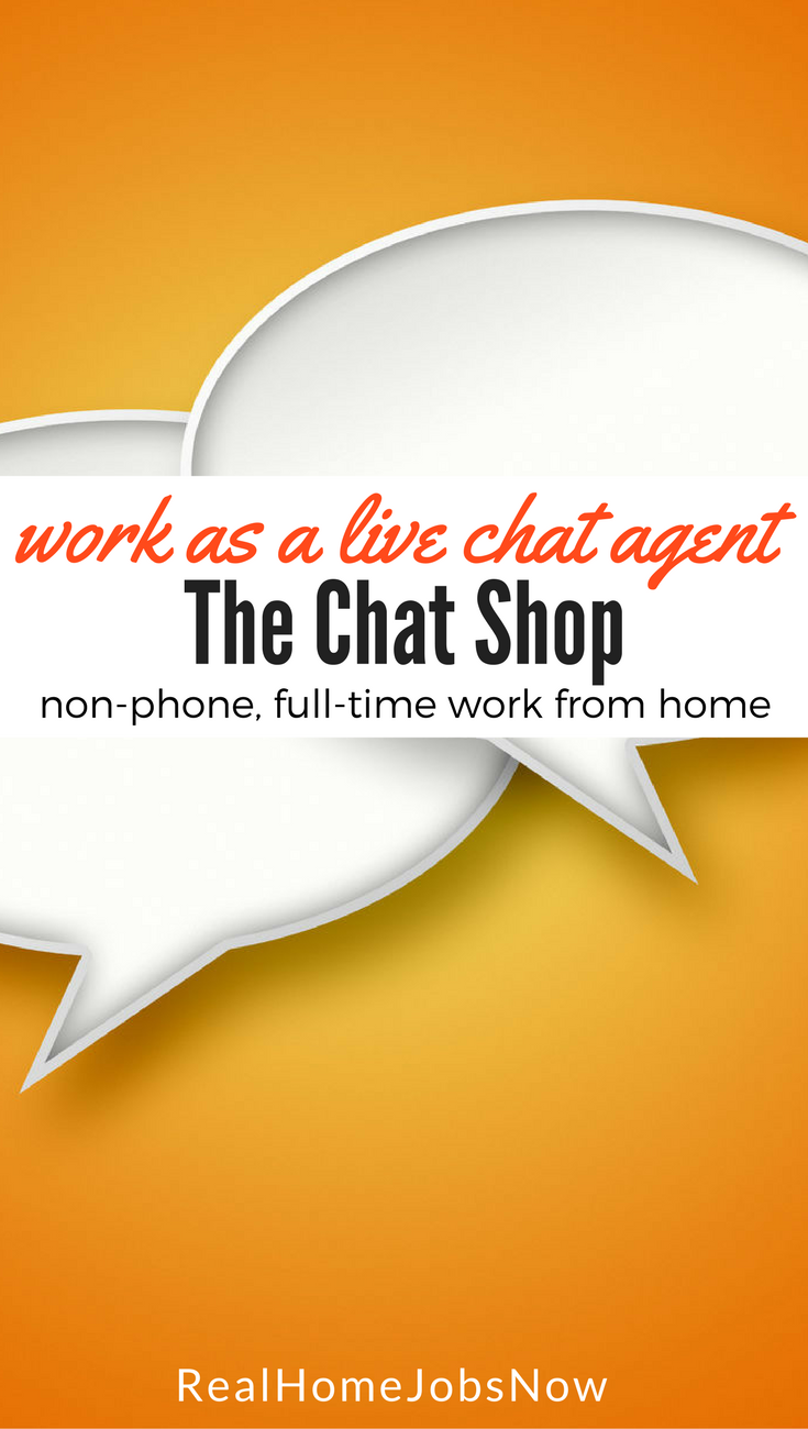Live chat customer service jobs from home