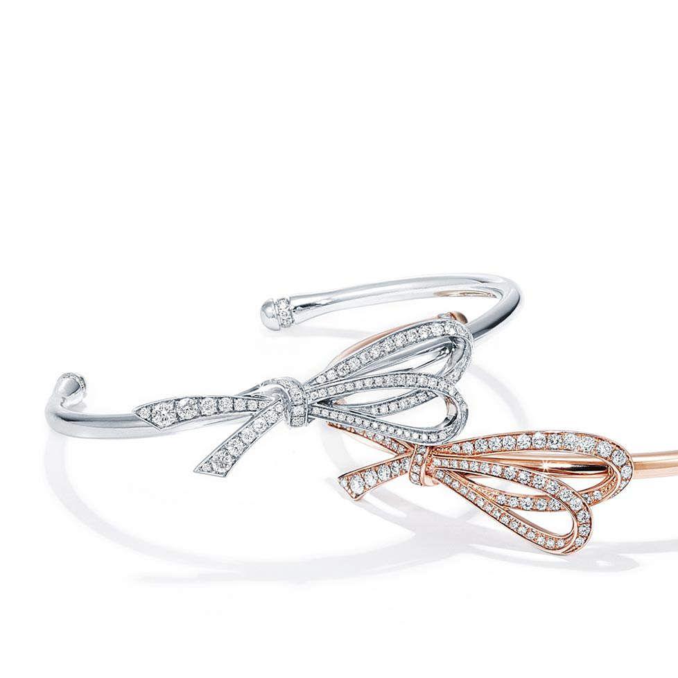 aeba0708bbd7c Tiffany Bows Bracelets   f a s h i o n   Tiffany bracelets, Jewelry ...