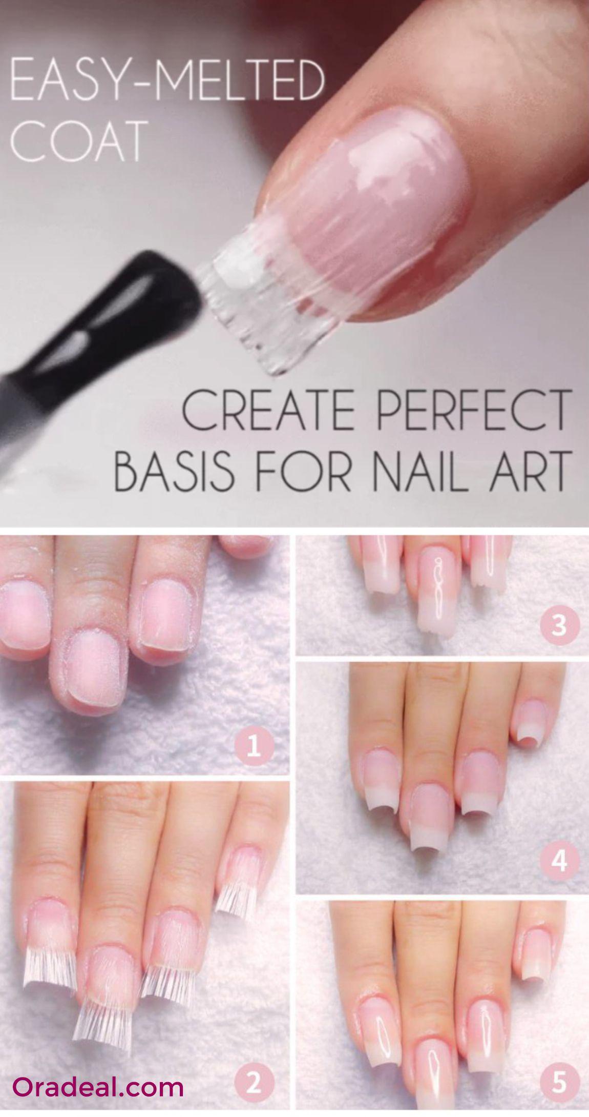Easy Nails Diy Arts Fiberglass Nails Nails Quick Nail
