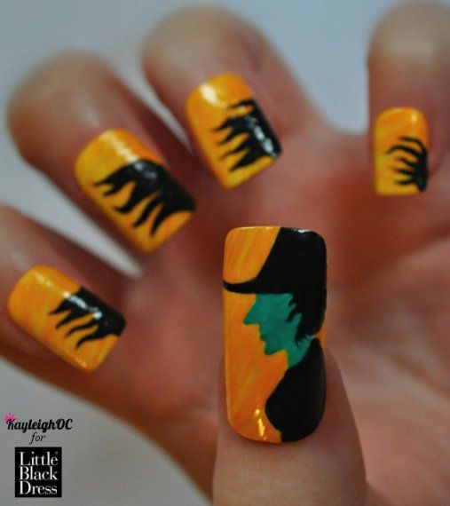 Wicked Witch Of The West Nails For Littleblackdress Co Uk