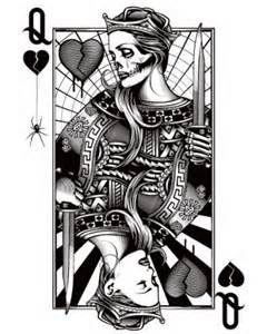 Queen Of Hearts Tattoo Tattoos Pinterest Tattoos Queen Of