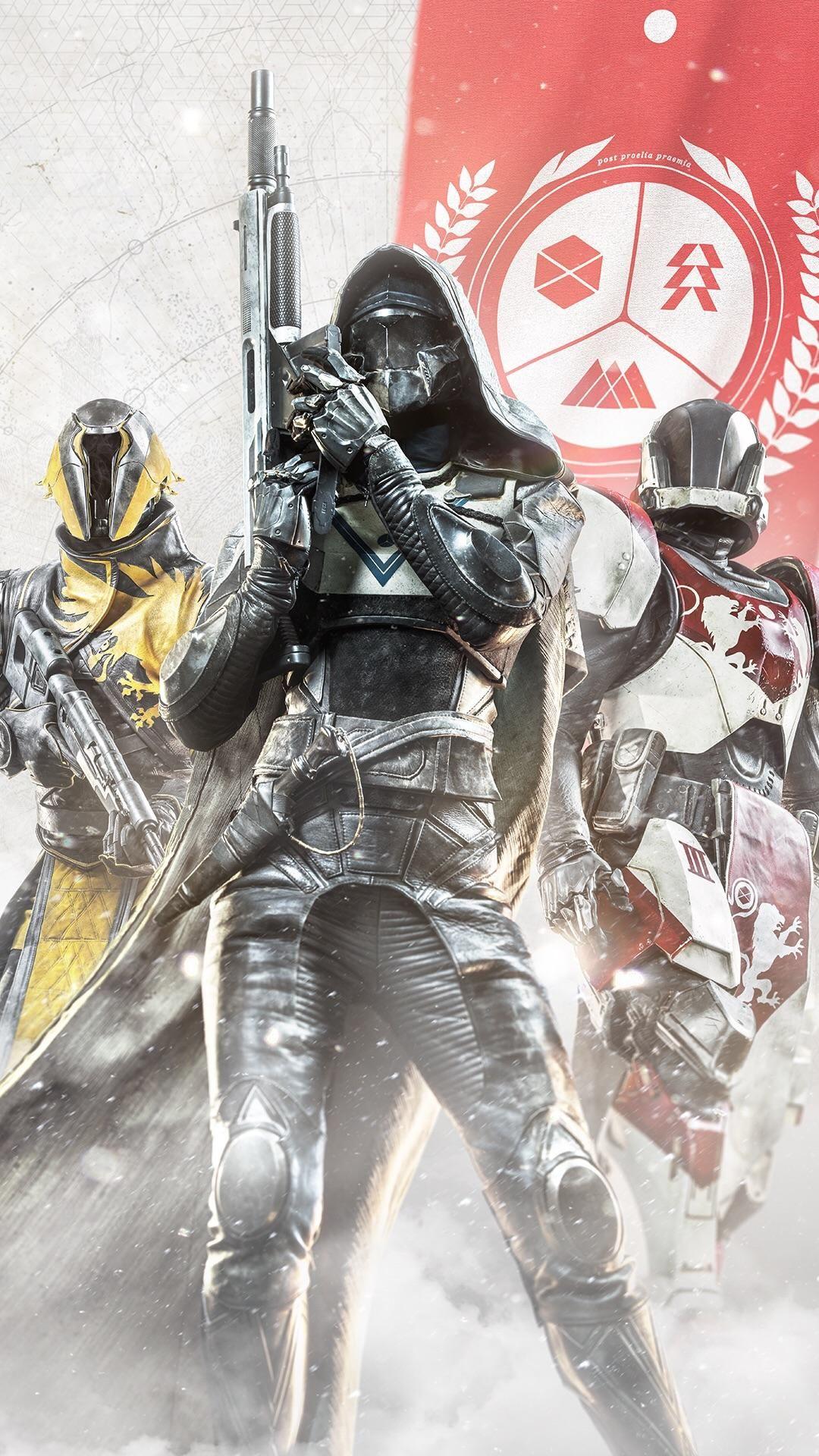 Destiny 2 Guardians Smartphone Wallpaper Gaming Pinterest