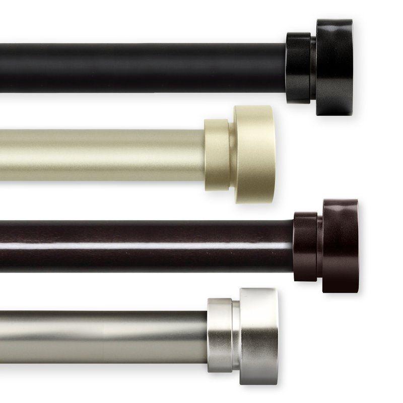 Lucite Flat Curtain Rod Hardware Modern Curtain Rods Acrylic