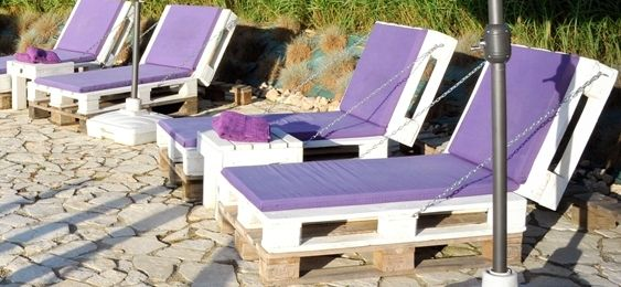 ligbed van pallets paletten m bel aus paletten palette und m bel. Black Bedroom Furniture Sets. Home Design Ideas