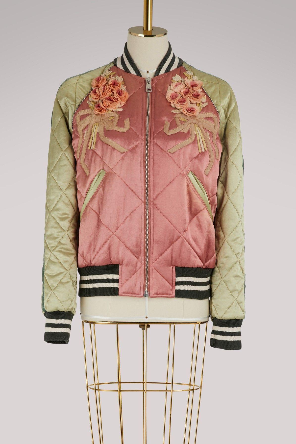 337f8440a GUCCI SHUNGA EMBROIDERED BOMBER JACKET. #gucci #cloth #   Gucci ...