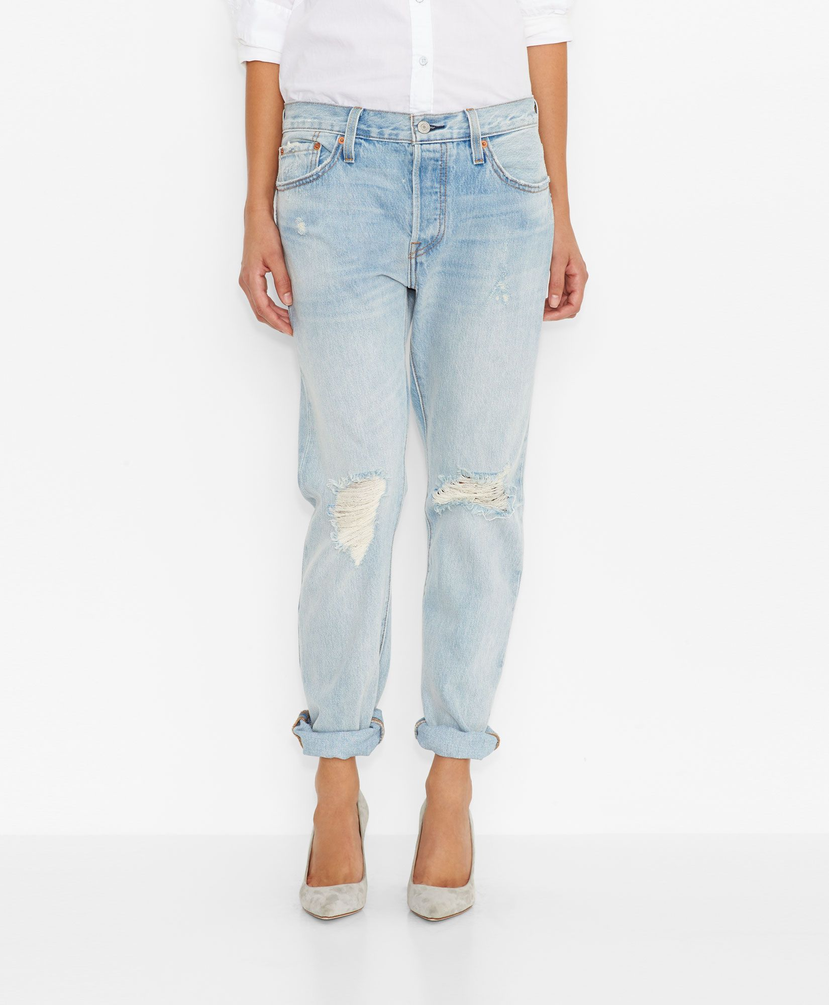 Levi's 501® CT Jeans for Women - Old Favorite - Boyfriend | Tomboy ...