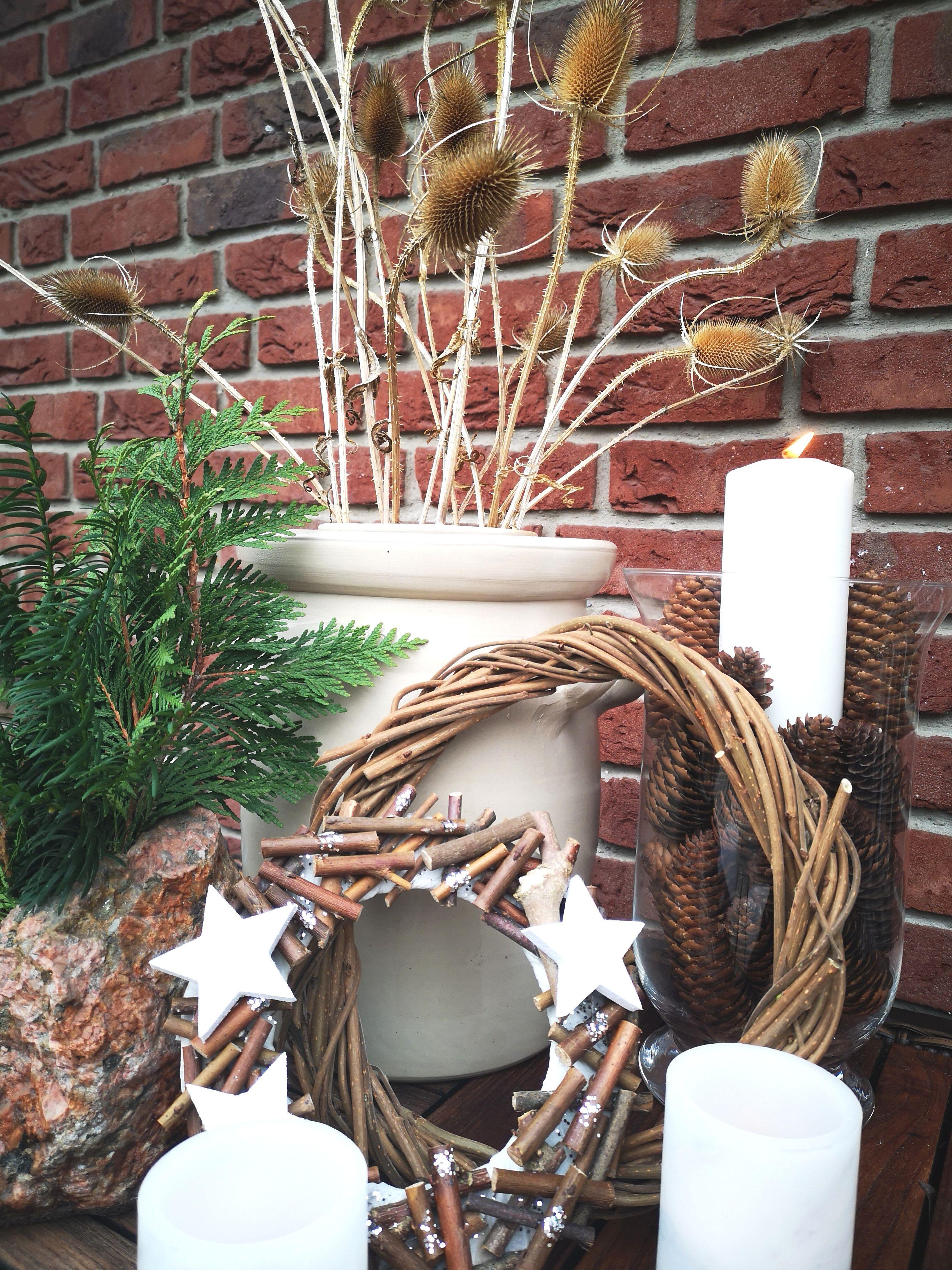 Weihnachtsdeko Terrasse Diy Ideen Und Inspiration Arts Crafts