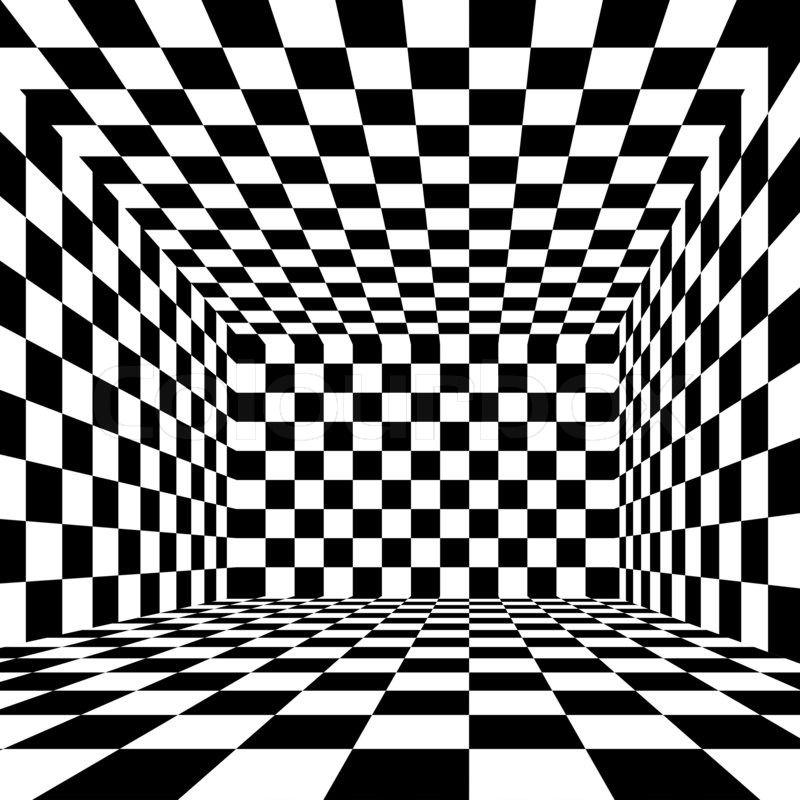 Black And White Checkered Stock Photo