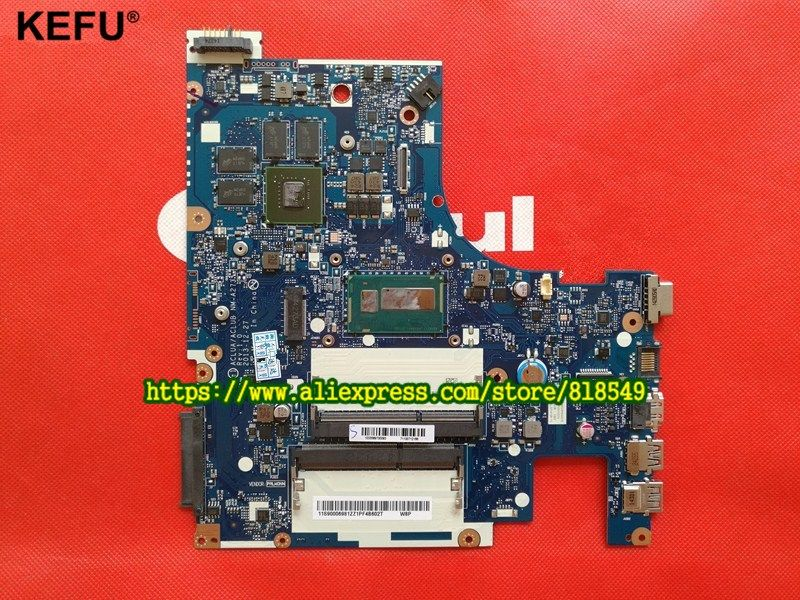Laptop Motherboard Fit For Lenovo Z50 70 Notebook Pc Main Board Aclua Aclub Nm A273 Rev1 0 With Graphics Card I3 P Laptop Motherboard Notebook Pc Motherboard