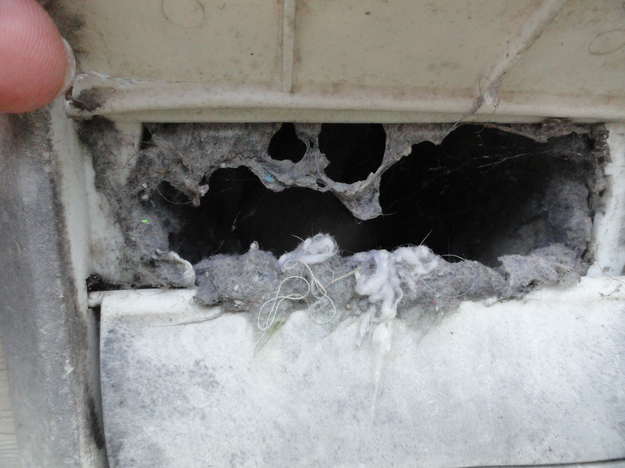 how to clean exterior dryer vent