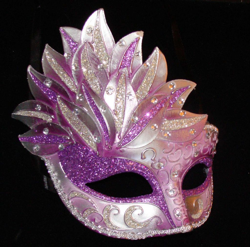 Sparkle Venetian Masquerade Ball Party Mask Prom Star 15