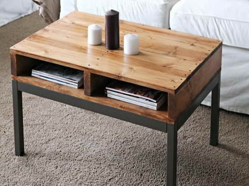 a small coffee table would be lovely. i've been trying different