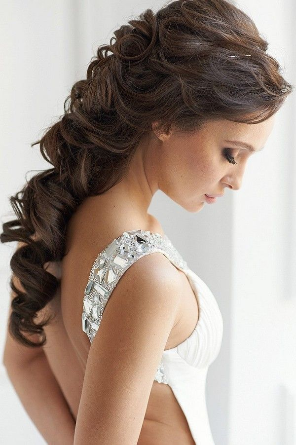 Wedding Hairstyle Trends For 2017 Fringe Fashion Model Girl With Trendy Haircut Updos Long