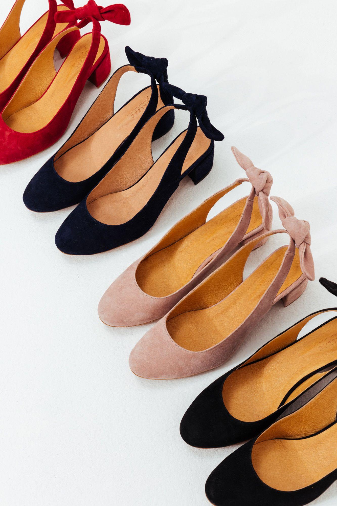ef7afb38fa6afb Ballerines Odette marine - Balzac Paris Chaussure Plate Femme, Belle  Chaussure, Chaussure Ballerine,