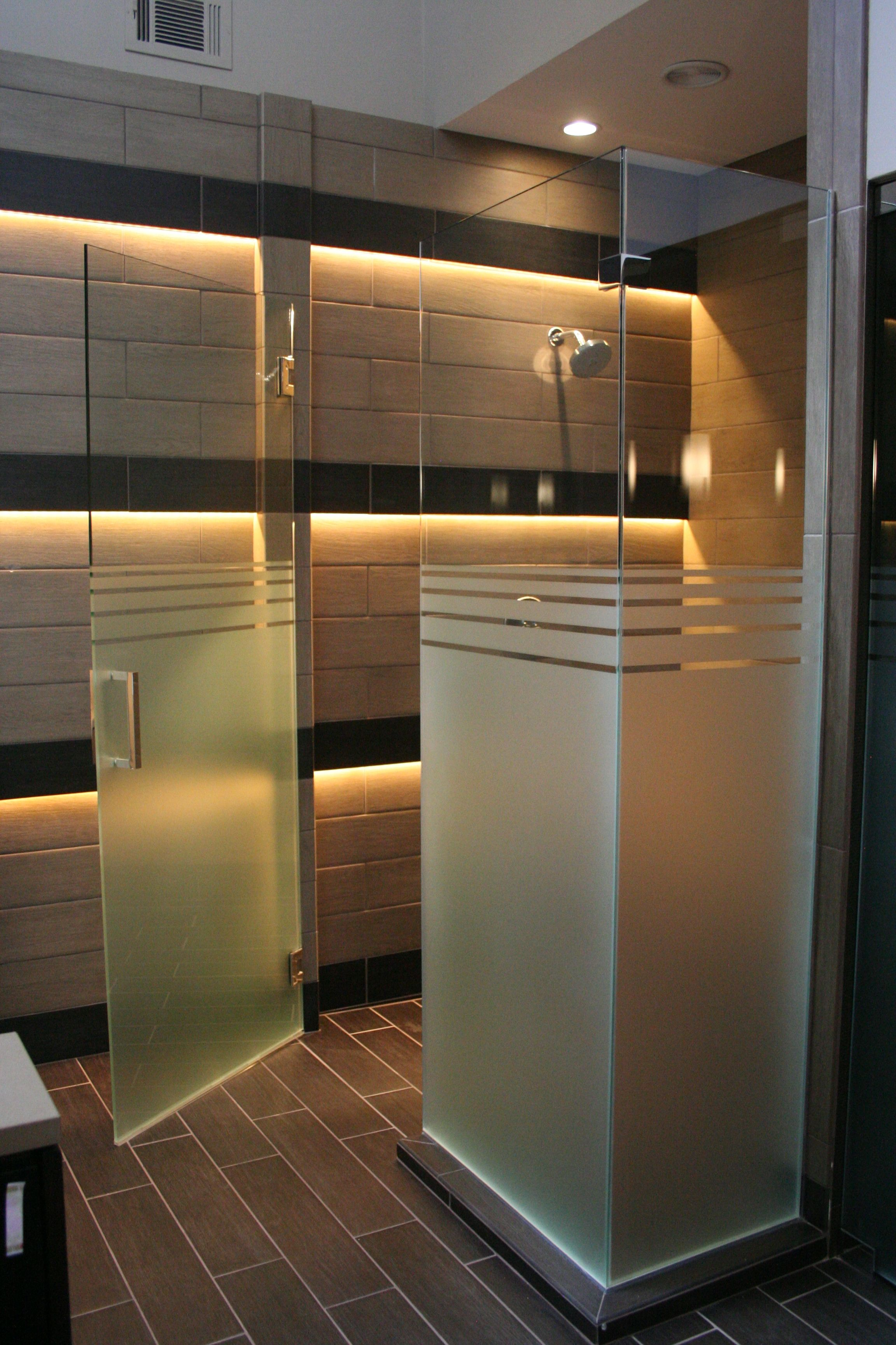 Door Designs: Frameless Showers | Shower doors, Bathroom shower doors,  Frosted shower doors