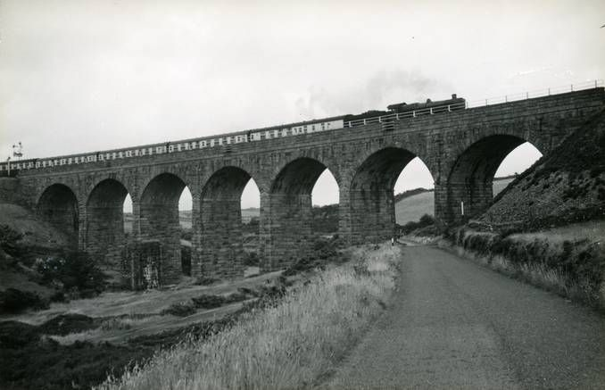Chacewater Viaduct, 20 July 1957