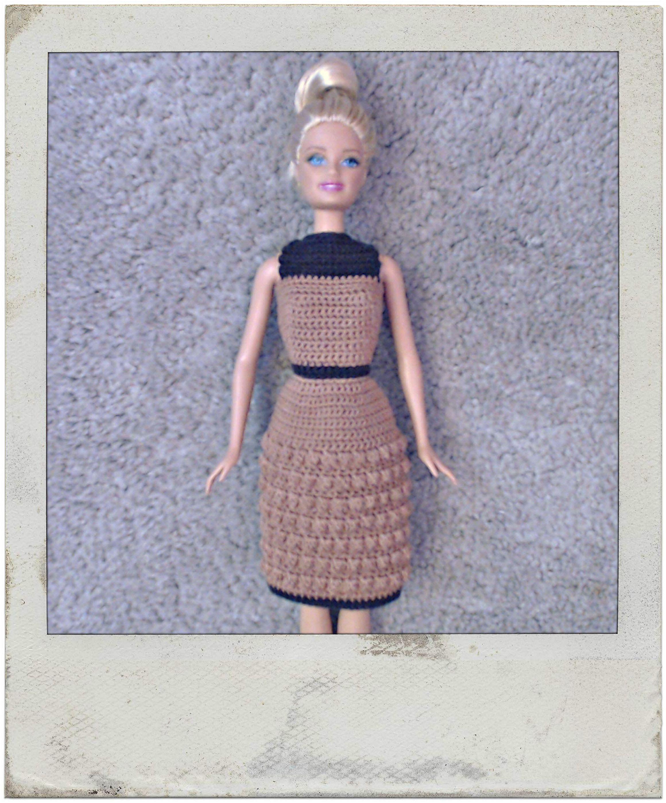 Crochet   Barbieu0027s Bobble Stitch Dress