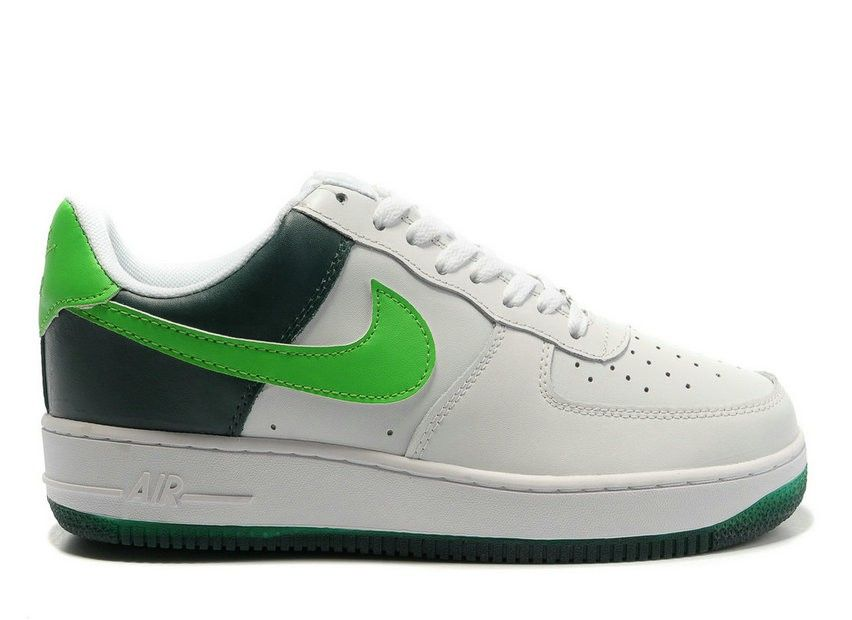 timeless design a9c19 de0c6 Nike Air Force 1 Low 30th Anniversary White Black Green! 65.90USD
