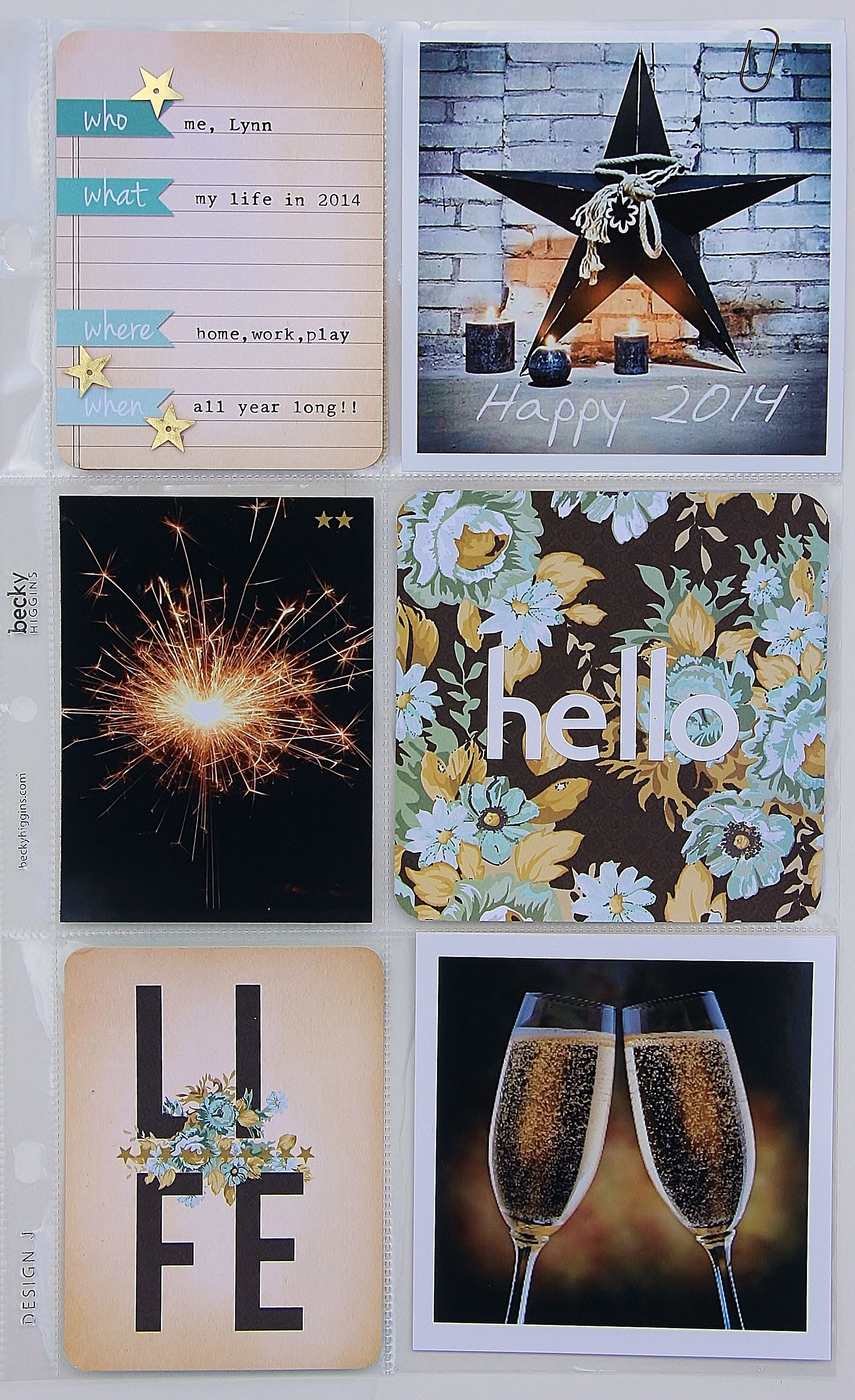 Project Life: Title Page-2014