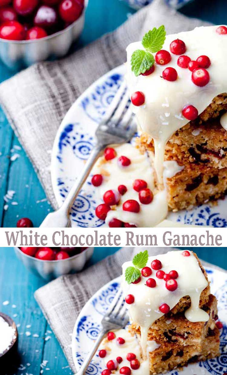 Recipe ganache frosting. White Chocolate Rum Ganache is the easiest glaze recipe ever. It is a sweet and light flavor that compliments carrot cake, spice cake and any other type of fall flavor desserts.