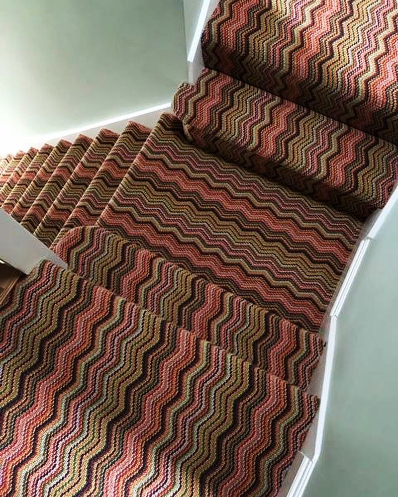 Best This Zigzag Carpet Is A Sure Way To Make A Style Statement In Any Home This Style Works So Well 400 x 300