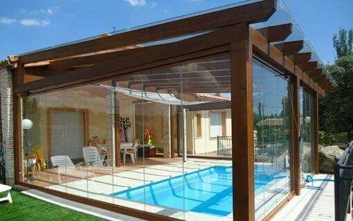 Pin de rosa mar a en casas y piscinas en 2019 for Piscinas de madera baratas