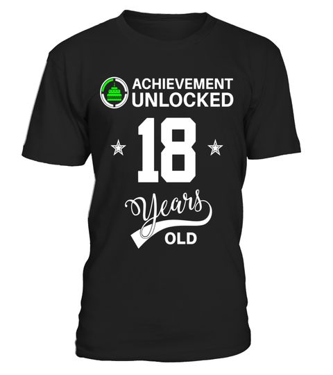 """# Achievement Unlocked 18 years old Happy 18th birthday Shirt - Limited Edition .  Special Offer, not available in shops      Comes in a variety of styles and colours      Buy yours now before it is too late!      Secured payment via Visa / Mastercard / Amex / PayPal      How to place an order            Choose the model from the drop-down menu      Click on """"Buy it now""""      Choose the size and the quantity      Add your delivery address and bank details      And that's it!      Tags…"""
