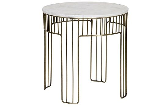 Modern Marble and Brass End Table available at redo home and ...