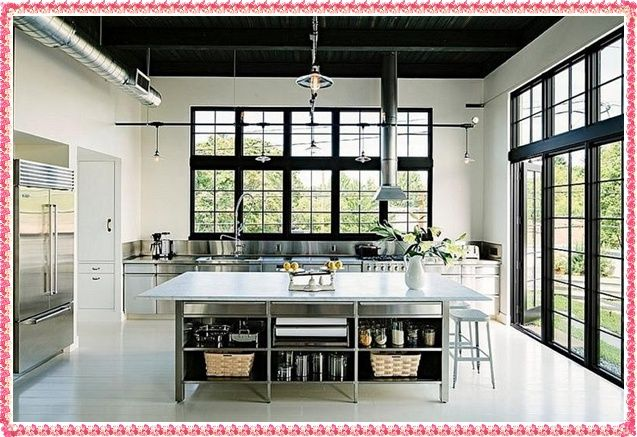 The Most Beautiful Kitchen Decorations 2016 Industrial Kitchen