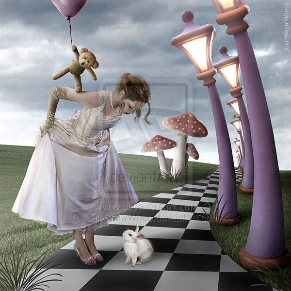 Fantasy Digital Art by Brazil based artist Juli-SnowWhite, aka Juliana. Juliana uses Photo Manipulation to create her amazing work.