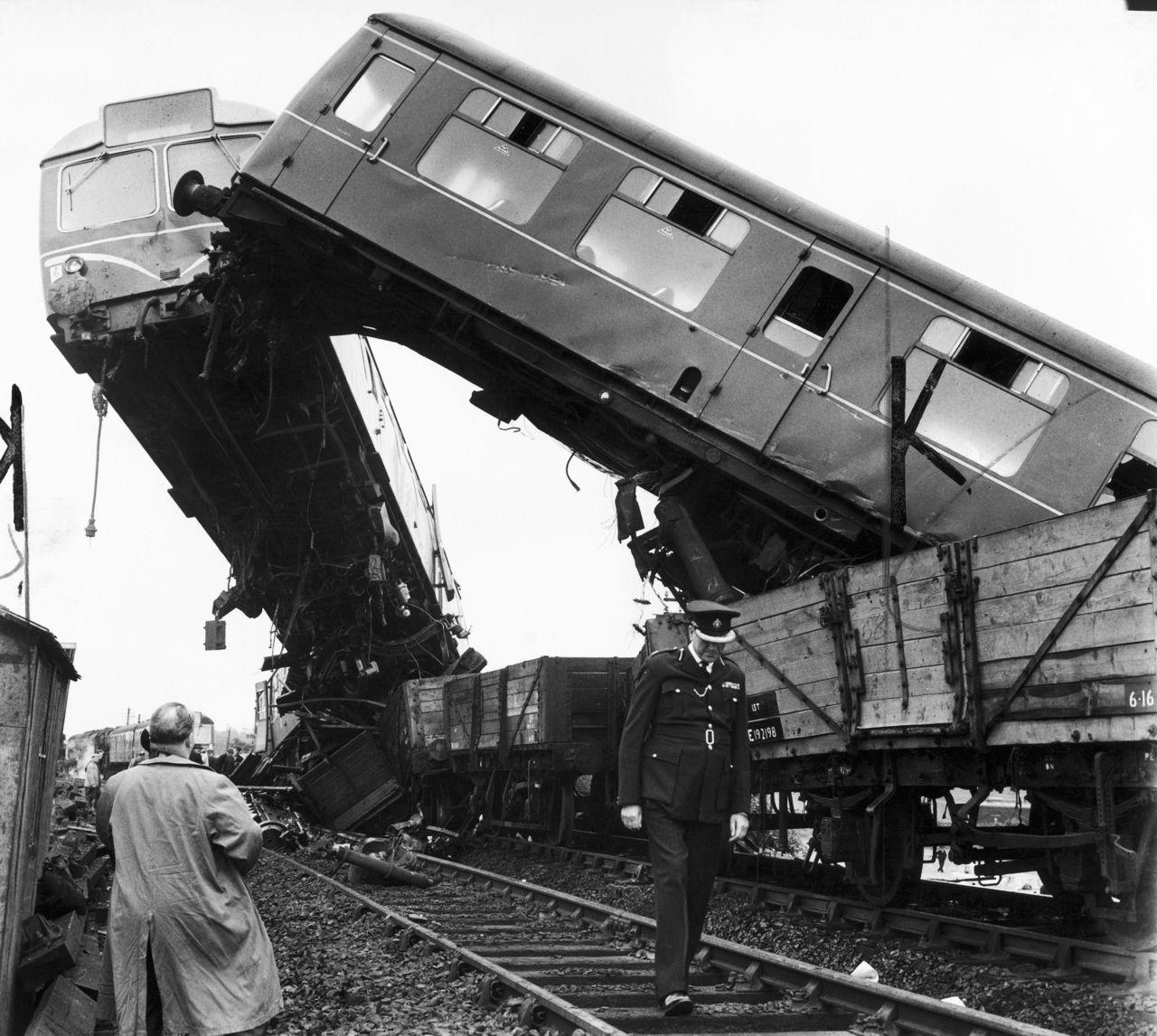 Train Wreck at Michigan Central Station – September 16 ...  |Rail Road Train Wreck