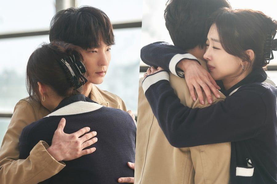 "Jang Hee Jin Is In Tears As She Reunites With Brother Lee Joon Gi In ""Flower Of Evil"""