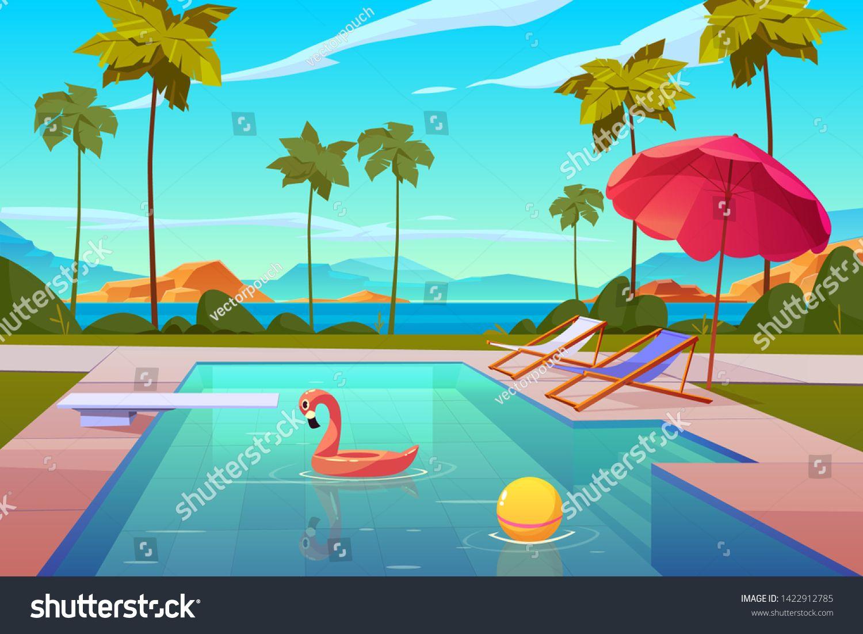 Watermark Background Of Blue Swimming Pool Swimming Pool Images Party Swimming Pool Pool Images