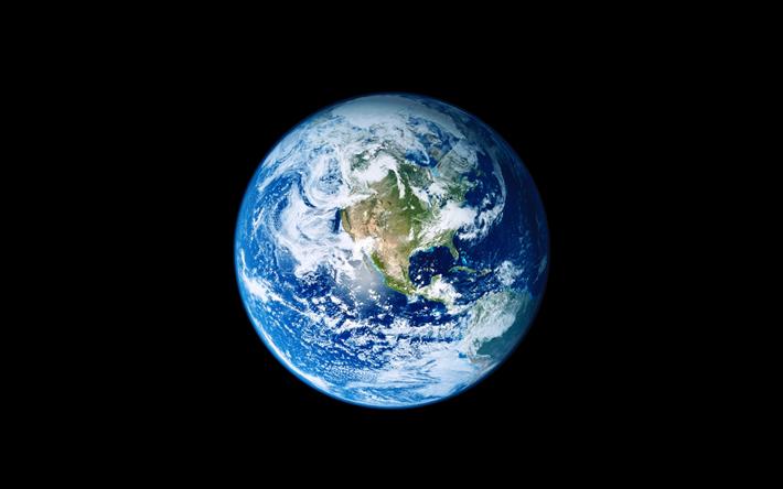 Telecharger Fonds D Ecran La Planete Terre De L Espace De