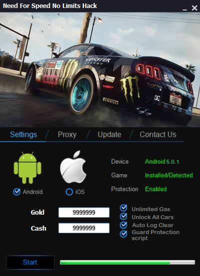 descargar need for speed no limits hack apk ultima version