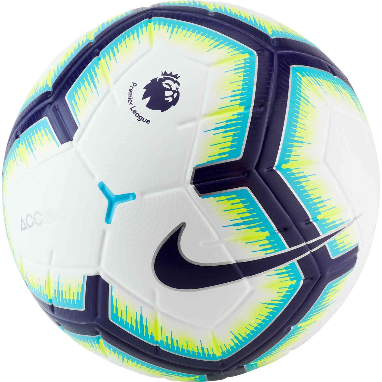 Nike Merlin Epl Match Ball At Soccerpro Now Nike Soccer Ball Soccer Ball Soccer