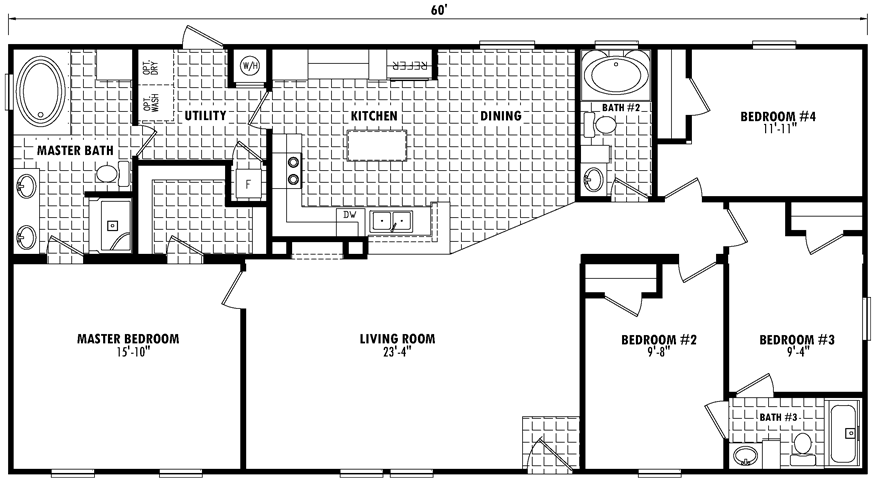 Image Result For 32x80 Mobile Home Plans Container House Design House Plans Mobile Home