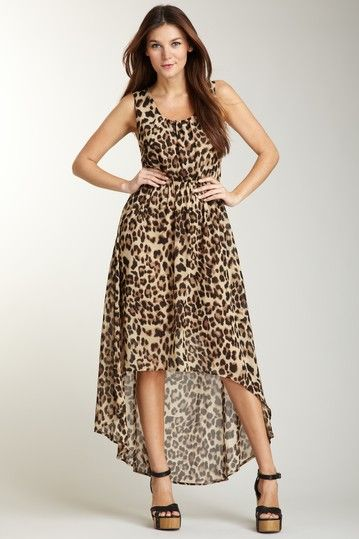 de03fb9aee Boho Chic Boutique Blu Pepper Hi-Lo Animal Print Maxi $ 19.00 | ~My ...