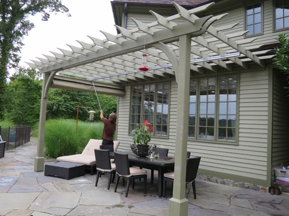 Attached post and beam pergola - Attached Post And Beam Pergola Patio Designs Pinterest
