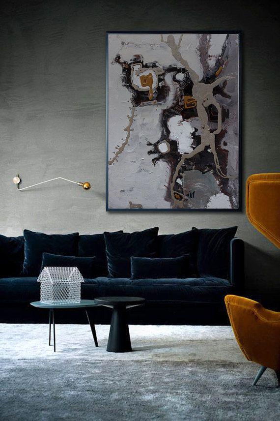 30++ Large canvas art for living room black info