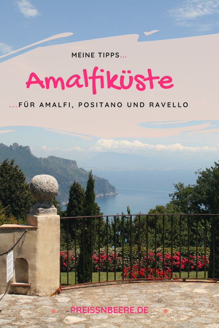 Wunderschöne Amalfiküste •