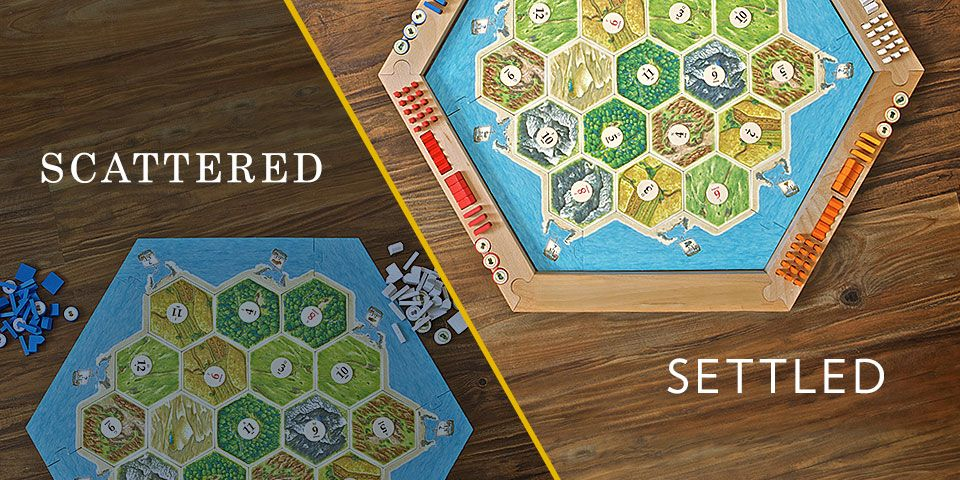 Hex Borders (With images) Settlers of catan, Catan board