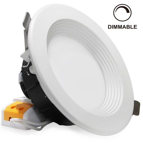 12watt 4 Inch Dimmable Retrofit Led Recessed Lighting Fixture Warm White 3000k Daylight 6000k Led Ce Led Can Lights Recessed Lighting Led Recessed Lighting
