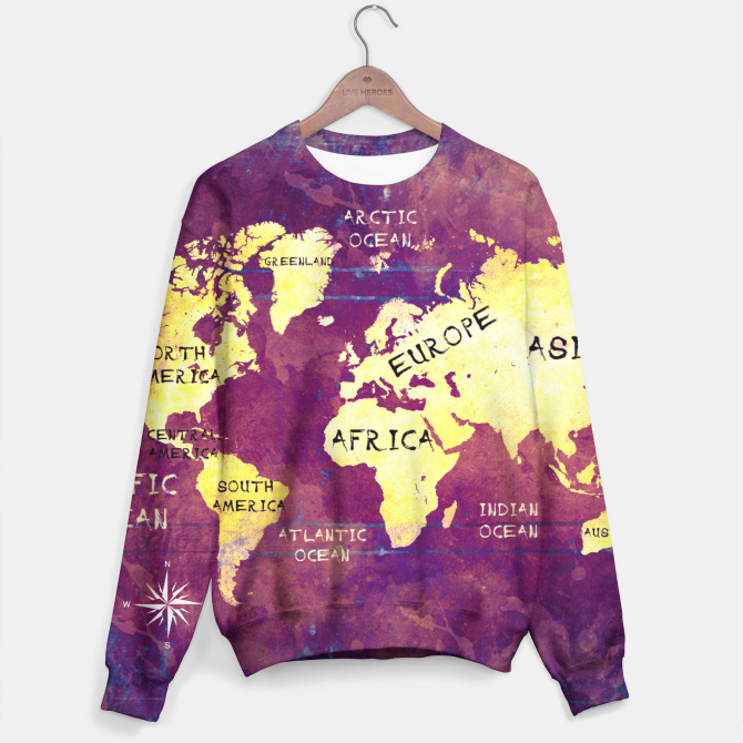 World Map Sweater.World Map Sweater World Maps Pinterest