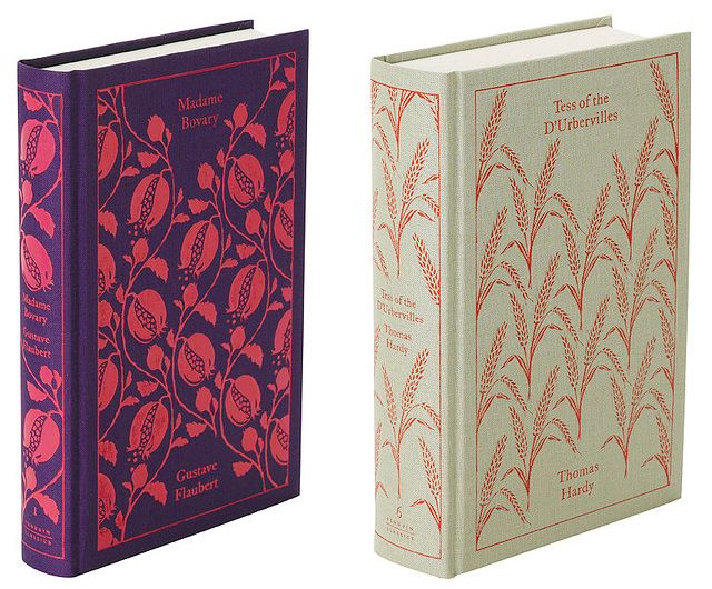 I had no idea the F. Scott Fitzgerald book covers I pinned earlier were by the same designer (Coralie Bickford-Smith) who did these wonderful classic book covers!