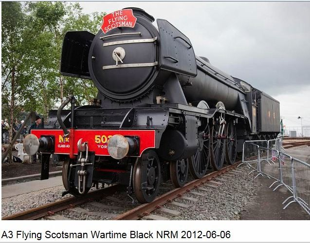 The Flying Scotsman in War Colours England UK