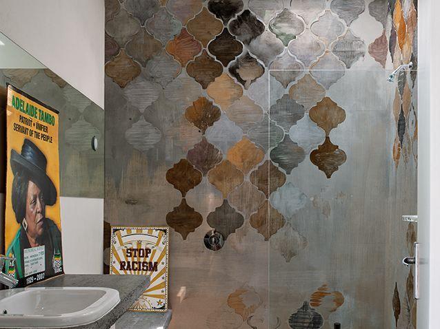 Motiv- Tapete fürs Badezimmer ALADINO Kollektion WET SYSTEM ™ 16 - bilder fürs badezimmer