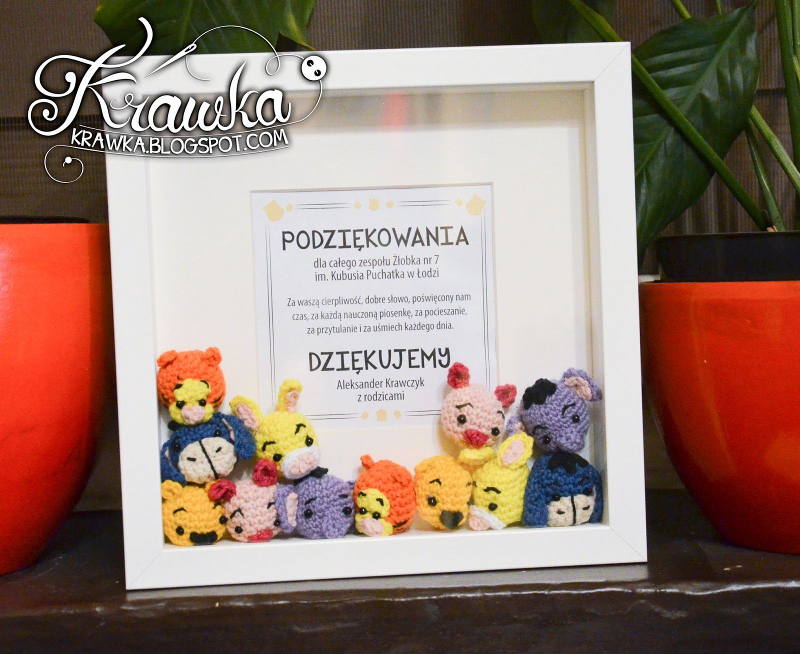 Piglet Amigurumi Free Pattern : Krawka: winnie the pooh and friends minis crochet free pattern